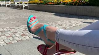 Bupshi - mismatch sandals outdoor