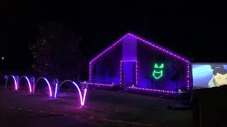 Lawrence Drive Lights - 2018 Halloween Light Display - INXS Devil Inside