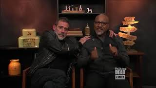 Talking Dead - Seth Gilliam (Gabriel) on his contact lens