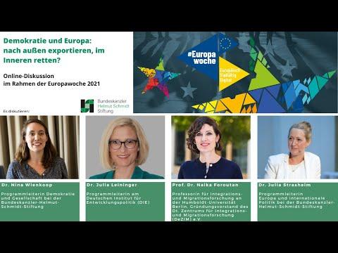 Demokratie und Europa: nach außen exportieren, im Inneren retten? | Online-Diskussion