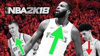 2nd Roster Update of NBA 2K18! VC Giveaway!