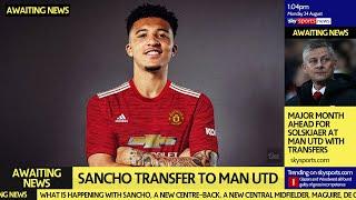 Sancho DECISION time | Man Utd's Major Transfer Month