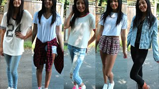 Simple Back 2 School Outfit Ideas! // Back 2 School 2014 // Jasmine Sky Thumbnail