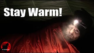 How to Extend the Temperature Range of your Sleeping Bag