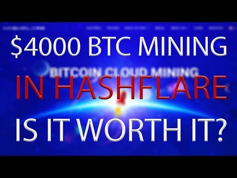 $4000 worth of BTC mining. IS IT WORTH IT? (you'll be surprised)