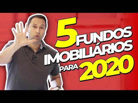 5 FUNDOS IMOBILIÁRIOS PARA 2020