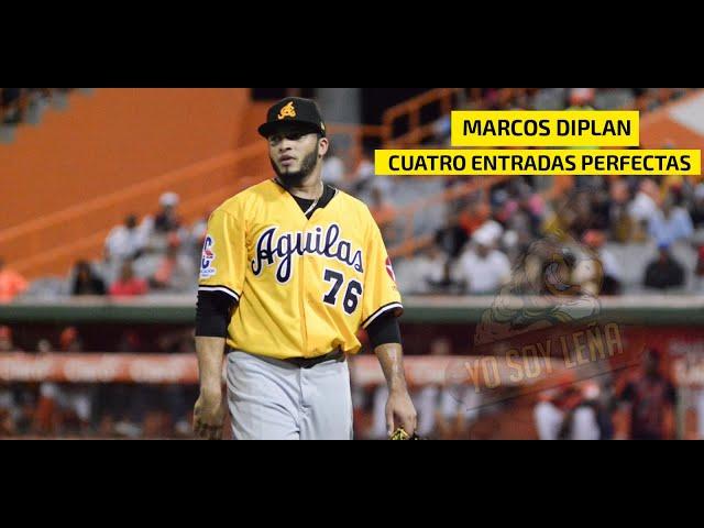 Marcos Diplan de Águilas Cibaeñas lanza cuatro entradas perfectas vs Los Toros