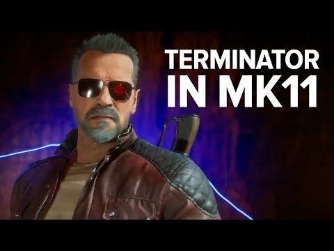 Mortal Kombat 11: Terminator T-800 Brutality And Second Fatality Montage