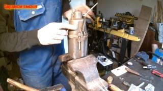 оторвался провод у вибрационного насоса, ремонт своими руками.