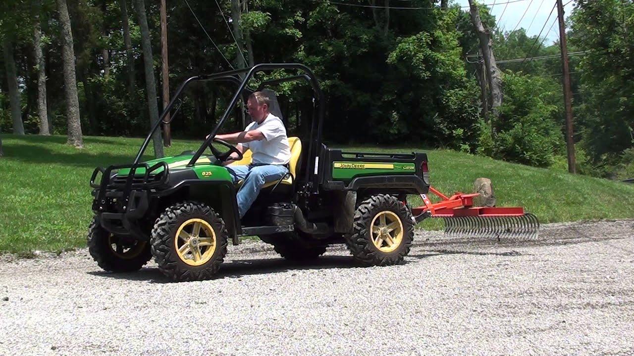 utv hitchworks farmboy sport g 3 point hitch with landscape rake