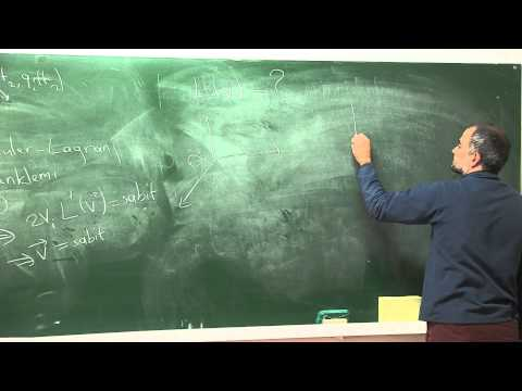 PHYS502 - Analitik Mekanik - Ders 1.1