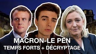 MACRON - LE PEN : les temps forts du débat décryptés !