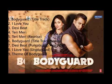 Bodyguard Audio Songs | All songs in One || mymp3album