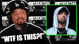 ICE-T'S REACTION TO HEARING EMINEM RAP FOR THE FIRST TIME!