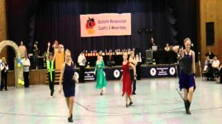 Deutsche Meisterschaft 2011 Newcomer Junior Teen West Coast Swing
