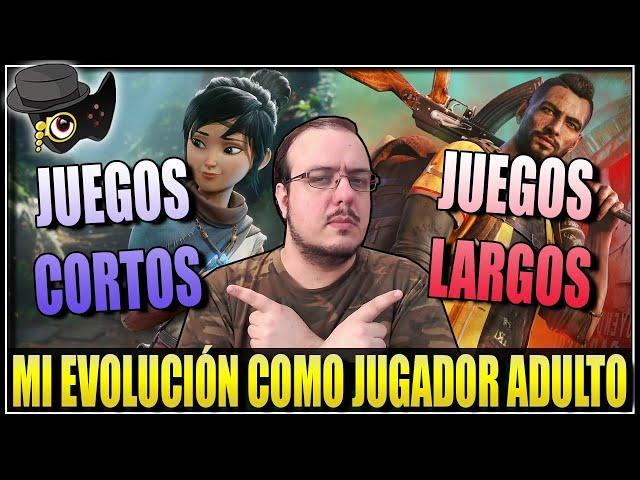 JUEGOS LARGOS Y JUEGOS CORTOS -MI PERCEPCIÓN COMO JUGADOR ADULTO-