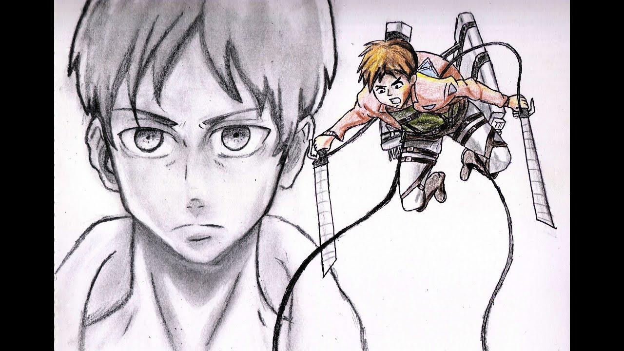 Dibujos De Eren En Titan  Dibujos Para Colorear-9899
