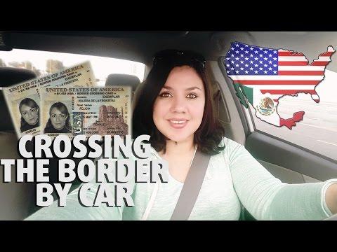 CROSSING THE BORDER    US Mexico Bridge Border Crossing Mexicali