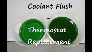 Proton Inspira/ Lancer 08 - Coolant flush and thermostat replacement