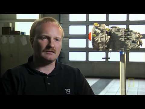 Bugatti Veyron documentary dual clutch transmission