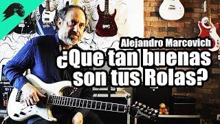 Alejandro Marcovich -La Guitarra es muy buena...porque la se Usar.