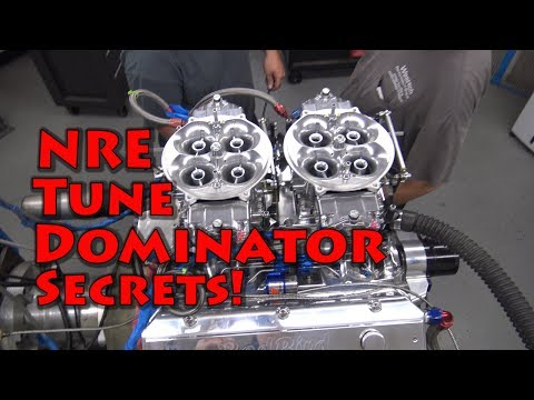 NRE Dominator Secrets! explained!  Double Dominator 1442  HP Nitrous 632 BBC.
