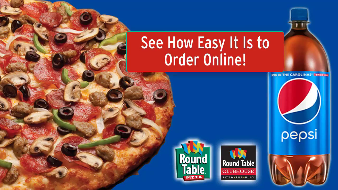 How To Order Online From Round Table Pizza YouTube - Round table pizza online