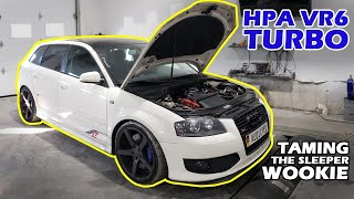 Hpa audi a3 vr6 turbo (r32 turbo) in for some boost control.