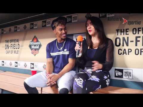 Francisco Lindor - Cleveland Indians #12. Entrevista por Meli Blanco para Noticiero Deportivo.