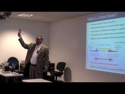 Data Diode Cybersecurity - HOTT Presentation - Dennis Lanahan