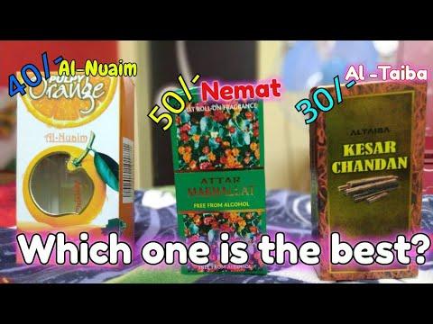 Pocket friendly Perfume oils / Synthetic Attars