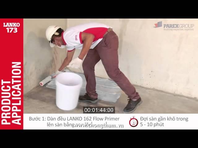 Vữa Lanko 173 tự làm phẳng  chuyên gia cải tạo nội thất sàn cũ và mới