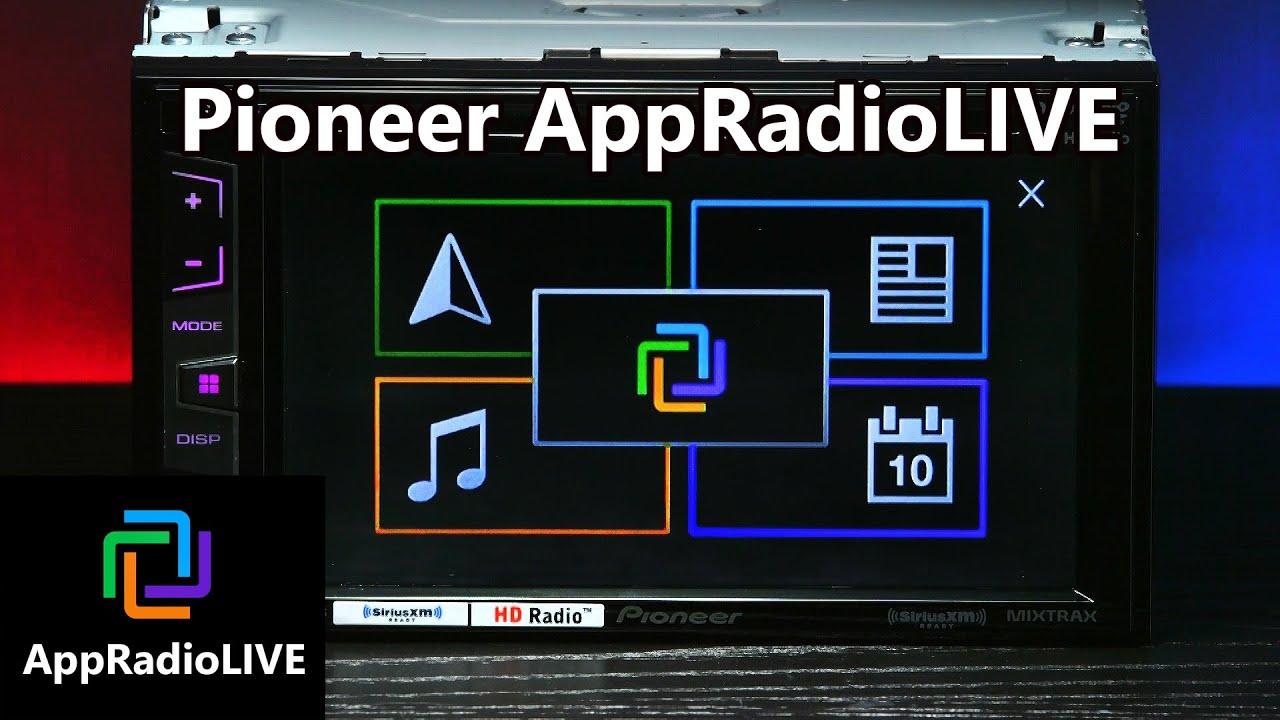 pioneer appradiolive walkthrough app radio live youtube. Black Bedroom Furniture Sets. Home Design Ideas