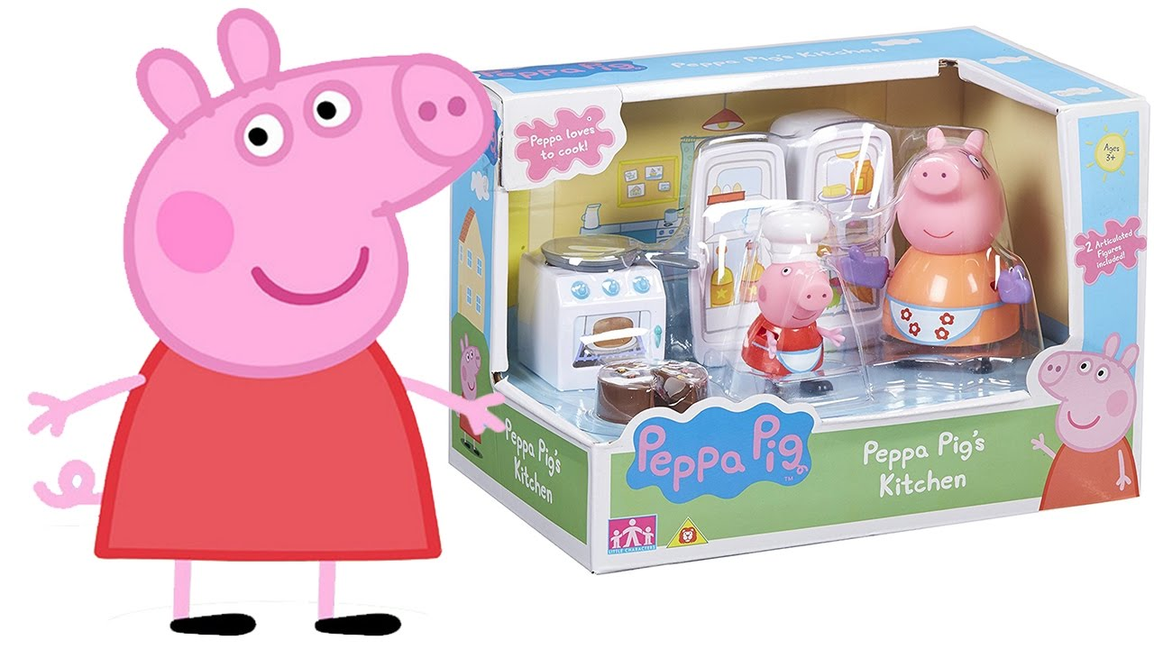 Peppa pig italiano apriamo la cucina di peppa pig e for Peppa in italiano