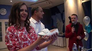 Жених выпил из туфельки невесты пол бутылки коньяка!