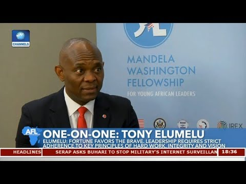One-On-One With Tony Elumelu Pt 1 | Africa's Future Leaders |