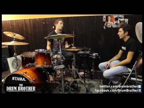 Billy Rymer (The Dillinger Escape Plan) - 'The Steps of Billy's Drum Career' drum interview