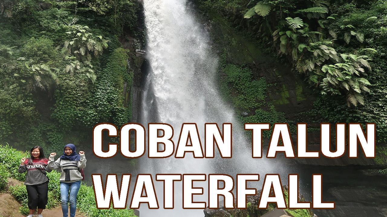 Wisata Air Terjun Coban Talun Waterfall Batu Malang - YouTube