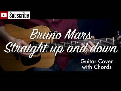 Bruno Mars Straight Up And Down Guitar Coverguitar Lesson