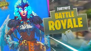 NEW LEGENDARY SKIN AND MEGA ICE DRAGON AT FORTNITE!! [I WANT FREE VBUCKS NOW!!]