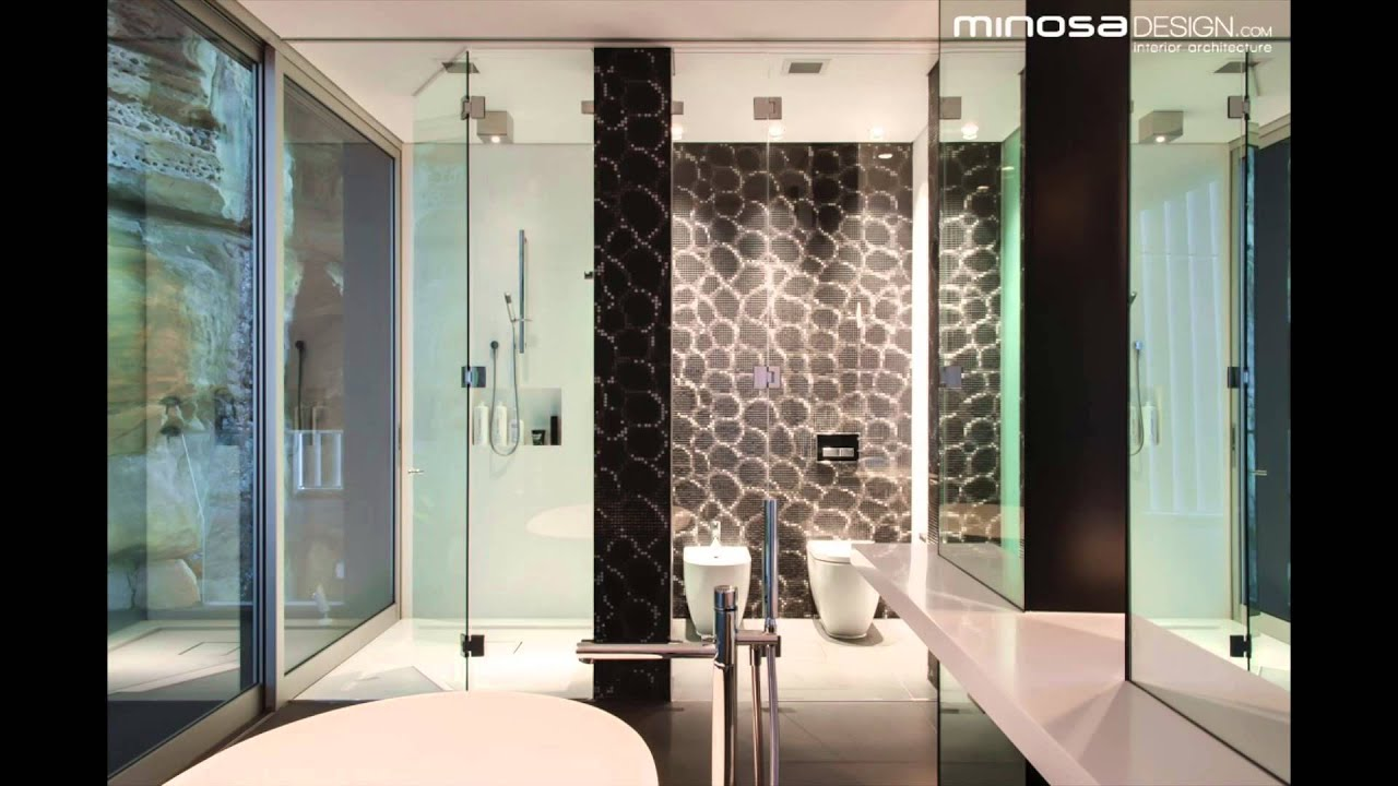 Dover Heights Award Winning Open Plan Bathroom Design By Minosa Youtube
