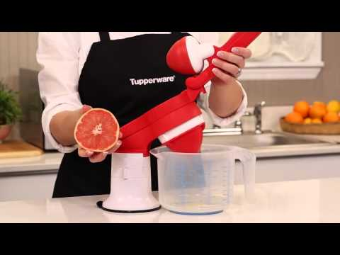 Tupperware Press Master Juicer Demo HD