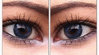 Venus Eye Blue Circle Lens Review & COUPON CODE ft. Pinky Paradise