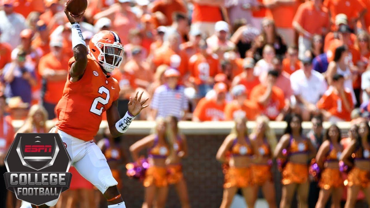 College Football Highlights: No. 2 Clemson pounds Furman ...