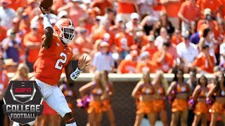 College Football Highlights: No. 2 Clemson pounds Furman behind Kelly Bryant, Trevor Lawrence | ESPN