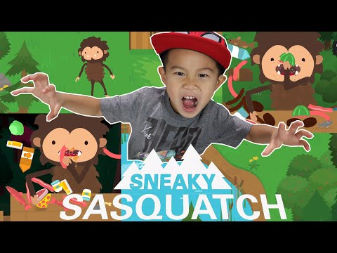 SNEAKY SASQUATCH | Apple Arcade | Kaven App Review