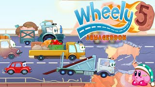 Wheely 5 Armageddon All Levels Walkthrough