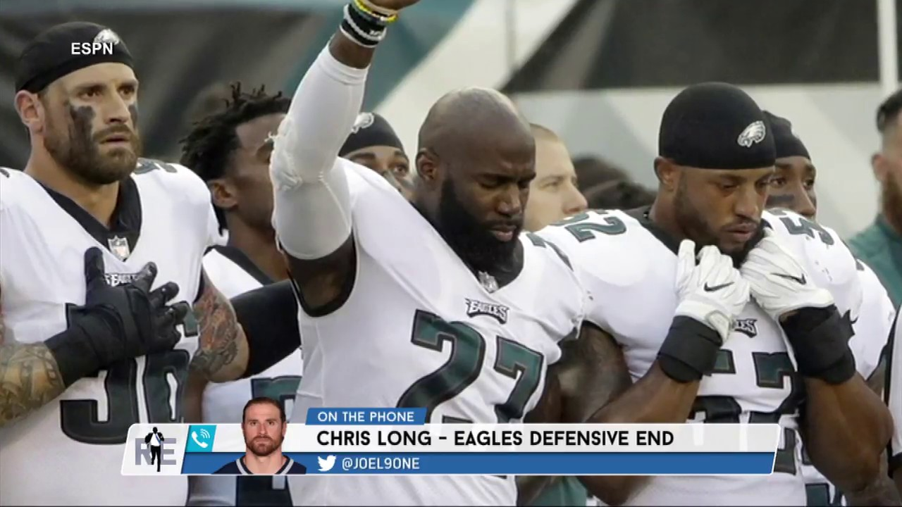 Why Eagles DE Chris Long Supported Malcolm Jenkins Protest During