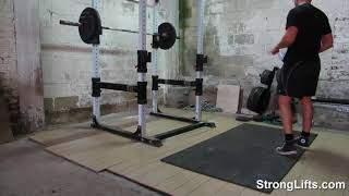 StrongLifts 5x5 Workout A: FULL Video (Official)