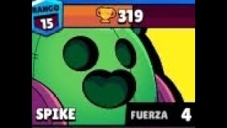 Brawl stars | supervivencia con Spike